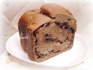 20101128たっぷりリンゴとチョコのパン 早焼き