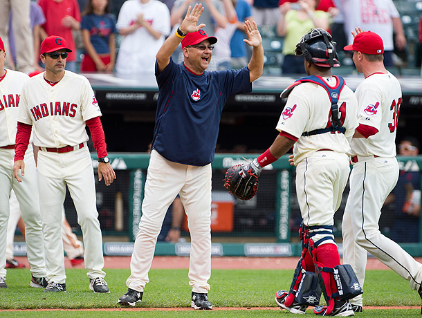 Terry Francona Manager of the Year2