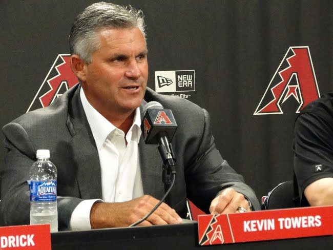 kevin towers diamondbacks gm
