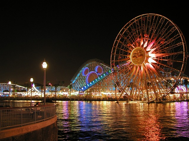 Anaheim 夜景