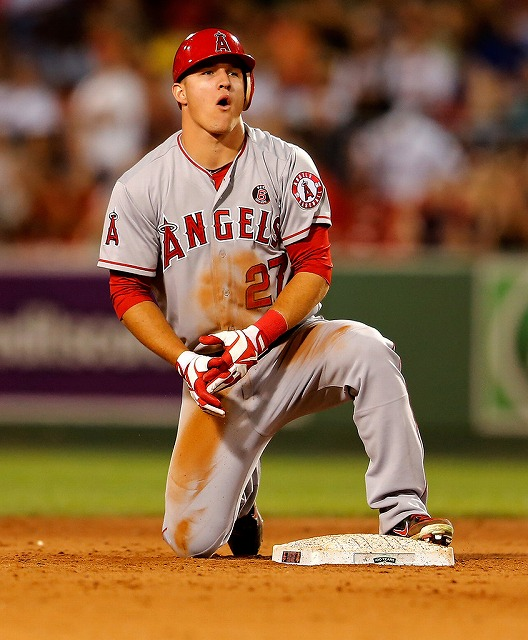 Mike Trout 囲い込み2