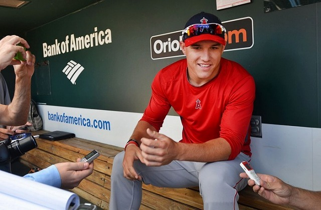 Mike Trout 囲い込み4