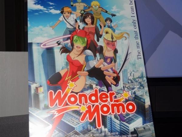ナムコの名作AC『ワンダーモモ』がアニメ化決定!ただし5分アニメ(全5話)