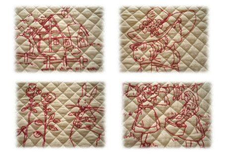 刺繍4枚Image1