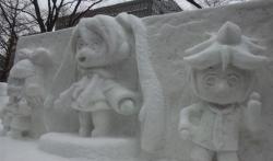 雪祭り@ミクリンレン2