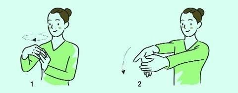 手首の痛みに効く体操