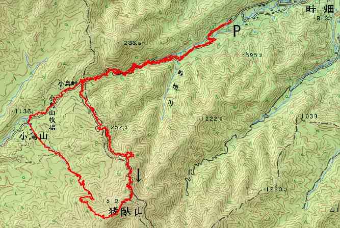 20130203 ibushiyama map