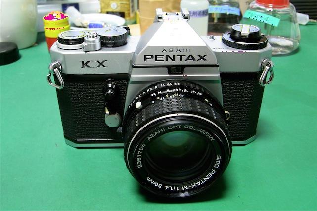 Pentax KX修理前
