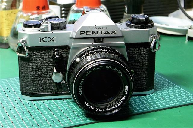 Pentax KX 修理完了