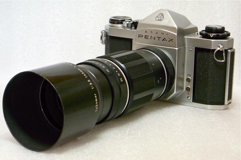 Pentax SV Tele Takumar 200mm 5.6