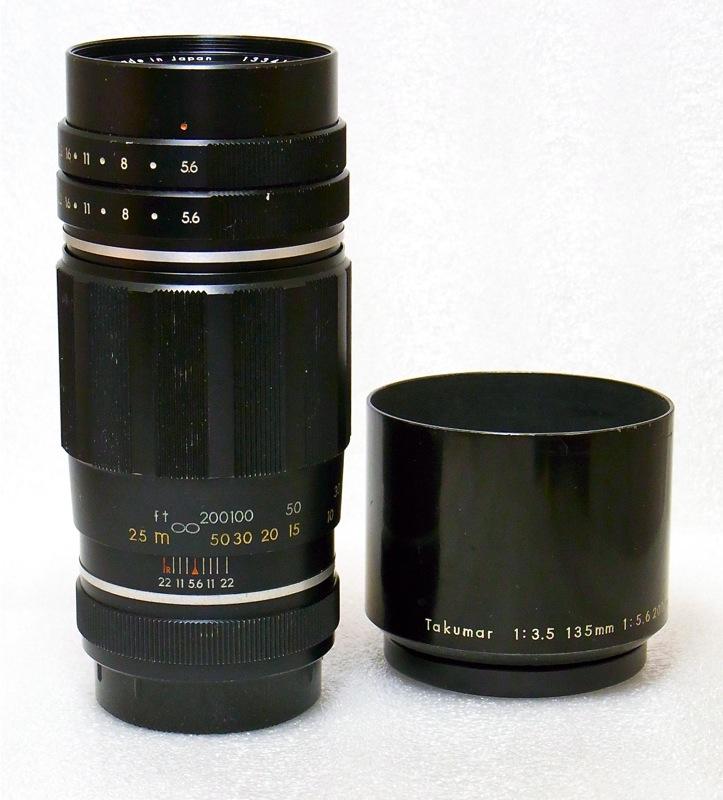 Tele Takumar 200mm 5.6