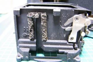 minolta SRT-101ミラー下モルト