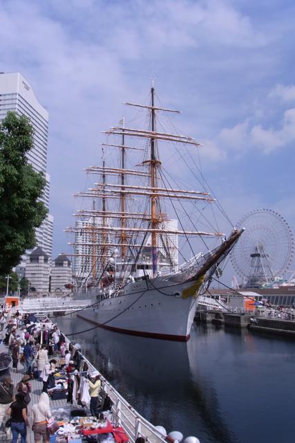 横浜赤レンガ倉庫オクトーバーフェスト2010-日本丸