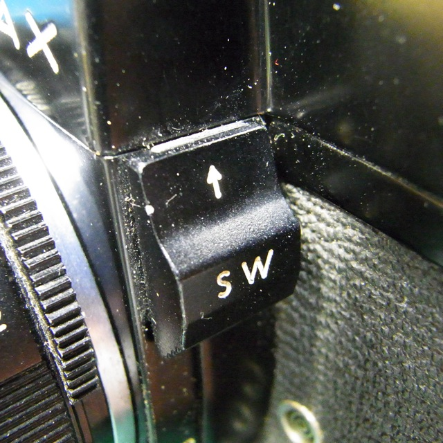 PENTAX SP(BL) 露出計スイッチ