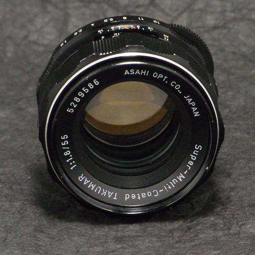 SMC TAKUMAR 55mm F1.8 2