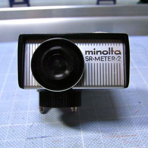 minolta SR-METER-2 FRONT VIEW