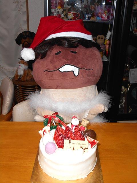 ナメ子とケーキ