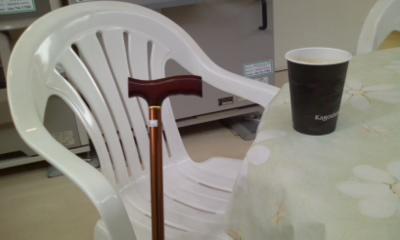 おばあちゃんの杖