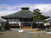 H240406屋根普請の始まる法蔵寺正面