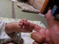 H250801哲冬の足指