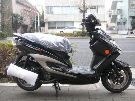 '13モデル シグナスX-FI SR