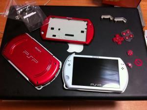 PSPgo-Red(組み立て前)