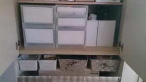キッチン造付棚