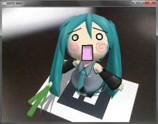 ARTK_MMD【マーカーの上にMikuMikuDanceのモデルを表示させるツール】 004