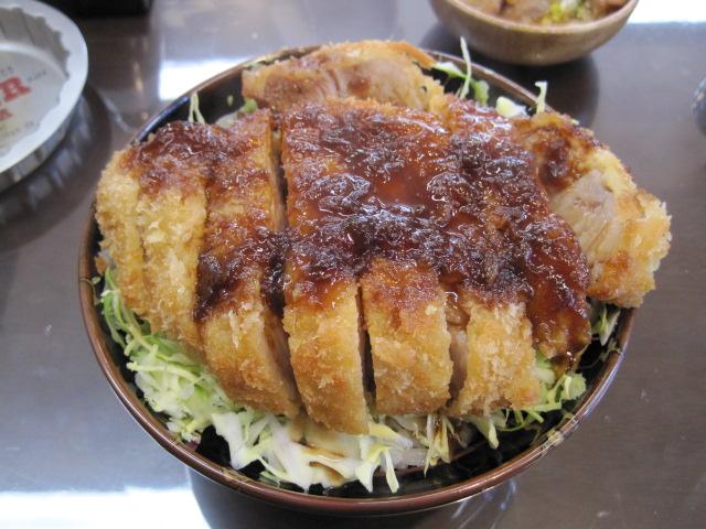 ソースカツ丼 010