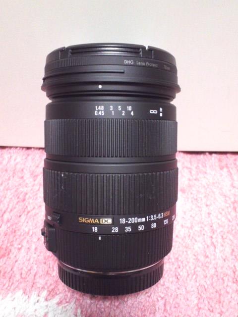 望遠 レンズ(SIGMA)
