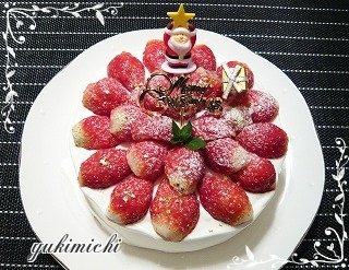 2013年クリスマス☆レアチーズケーキ