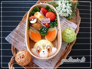ポケモン☆フォッコのお弁当☆
