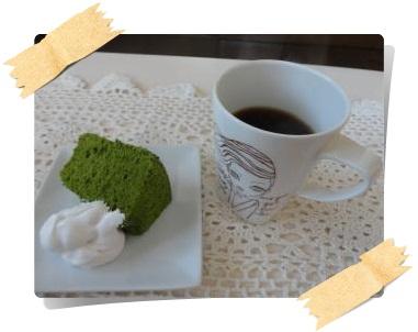 コーヒーとシフォン1
