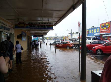オーストラリア洪水