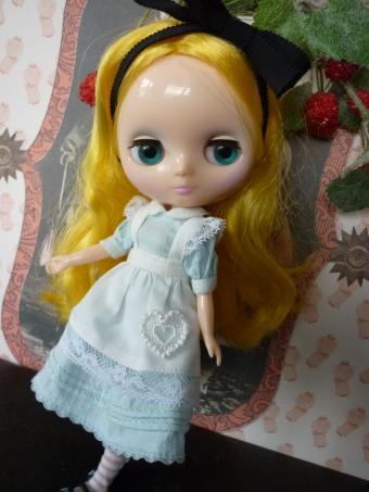 アリス風スージーちゃんだよ。