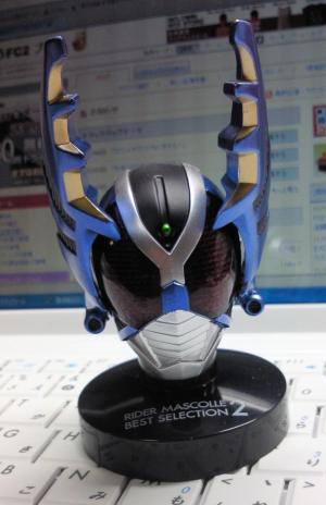 マスコレ 仮面ライダーガタック ライダーフォーム