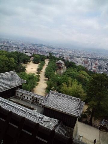 1松山城眺め