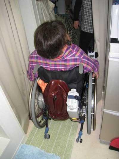 東北関東大震災障害者派遣プロジェクト9