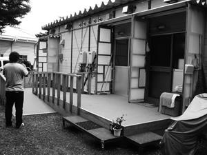 大船渡の仮設住宅