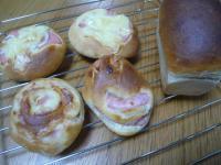 3月7日ハムチーズパン