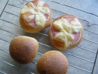 3月8日ハムチー&丸パン