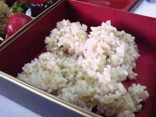 ロハスカフェお弁当(玄米)