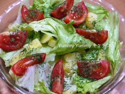 ポテト&トマトのサラダ♪