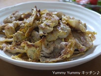 豚もも肉のやわらかピカタ☆スモークペパー味♪横