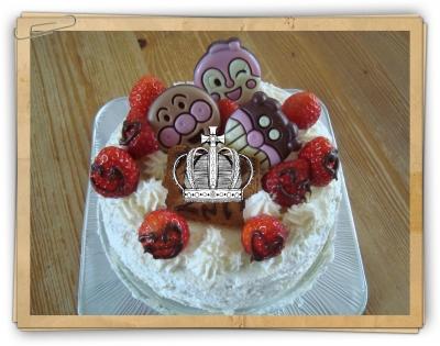 ケーキ あんぱん