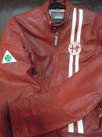Alfa 8C BREMA Leather Jacket 1