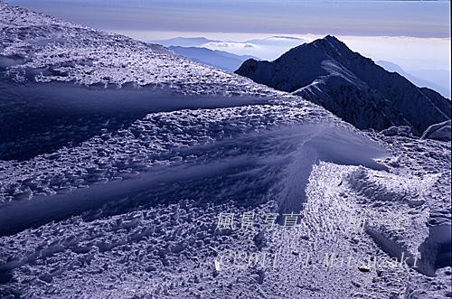烈風の道と山ノ沢岳