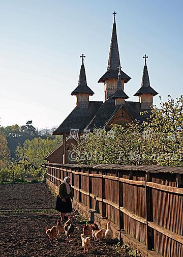 木造教会のある村 その4
