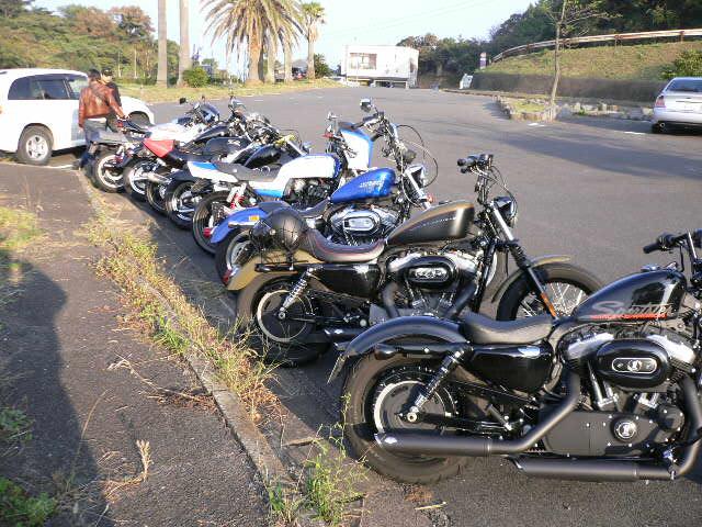 七ツ釜バイク