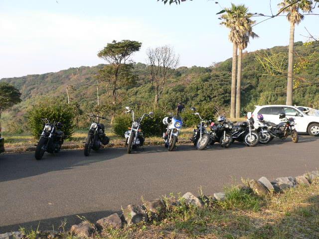 七ツ釜バイク2